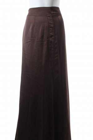 Adolfo Dominguez Maxi Skirt bronze-colored elegant