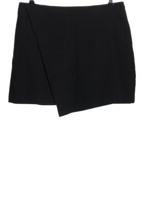 Adolfo Dominguez Mini-jupe noir style décontracté