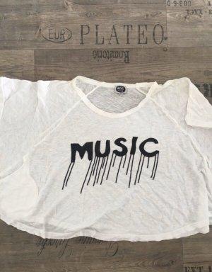 Adolfo Dominguez T-shirt court blanc-noir