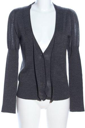Adolfo Dominguez Giacca-camicia grigio chiaro puntinato stile casual