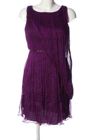 Adolfo Dominguez Pinafore dress lilac elegant