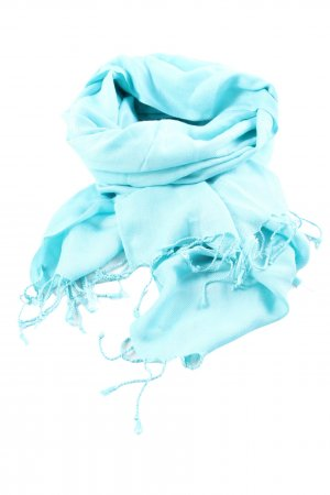 ADORE Fringed Scarf blue casual look