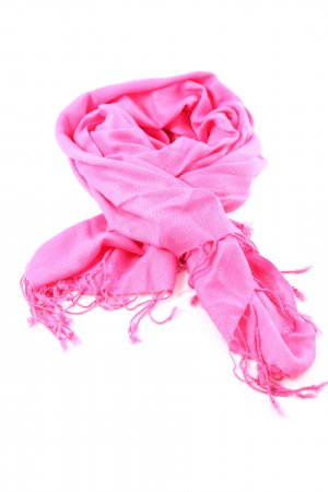ADORE Fringed Scarf pink casual look