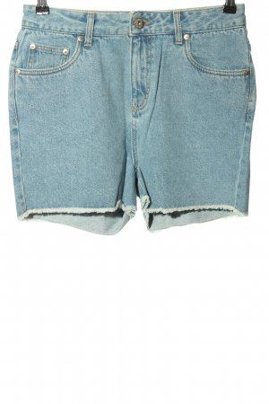 ADPT. High-Waist-Shorts blue casual look