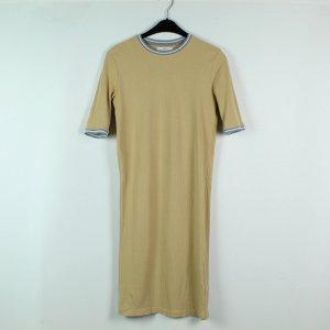 ADPT Kleid Gr. M beige gerippt (20/02/591)