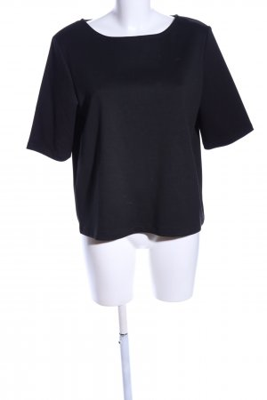 ADPT. Short Sleeved Blouse black business style