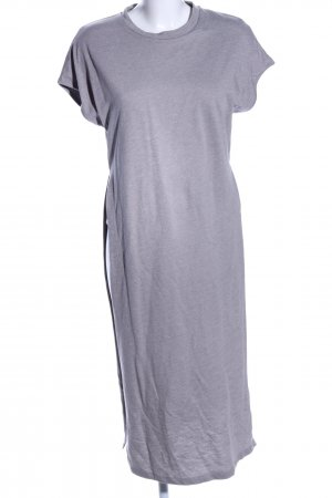 ADPT. Midi Dress light grey flecked business style