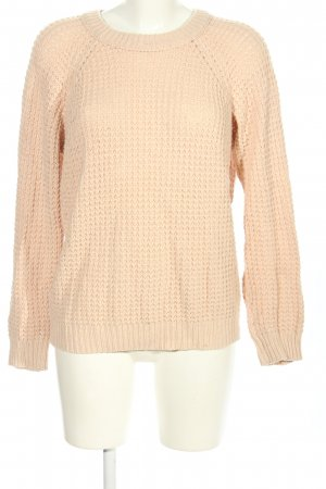 ADPT. Knitted Sweater cream-nude casual look