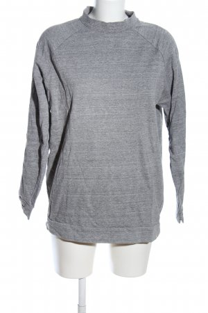 ADPT. Sweat Shirt light grey flecked casual look