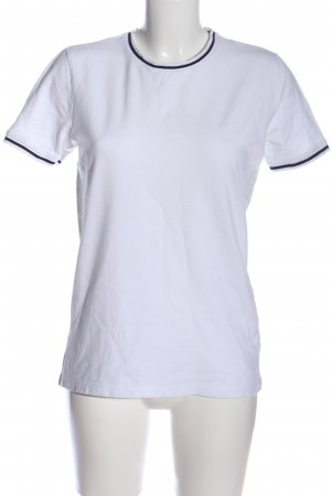 ADPT. T-Shirt white-black casual look