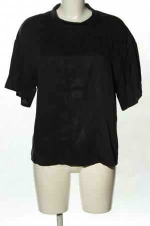 ADPT. T-Shirt black allover print casual look