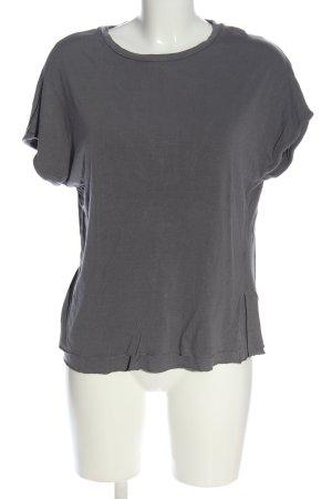 ADPT. T-shirt grigio chiaro stile casual