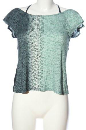 Adrett Mouwloze blouse volledige print casual uitstraling