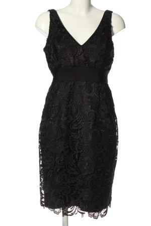 Adrianna Papell Vestido de noche negro elegante