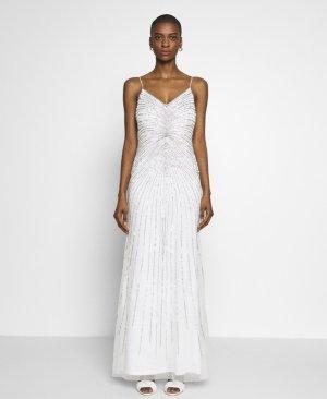 Adrianna Papell Vestido de noche blanco