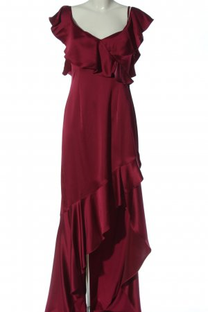 Adrianna Papell Vestido de noche rojo elegante