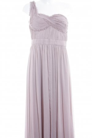 Adrianna Papell Vestido de noche rosa empolvado elegante