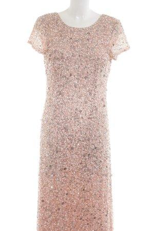 Adrianna Papell Vestido de noche rosa elegante