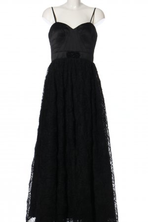 Adrianna Papell Vestido de baile negro elegante