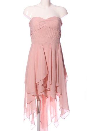 Adrianna Papell Vestido de cóctel rosa estilo extravagante