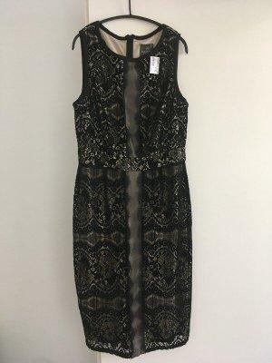 Adrianna Papell Midi-jurk veelkleurig Polyester