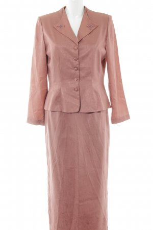 Adrianna Papell Kostüm rosé abstrakter Druck klassischer Stil
