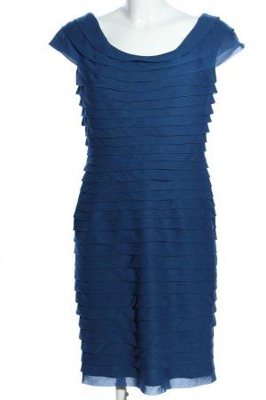 Adrianna Papell Kurzarmkleid blau Casual-Look