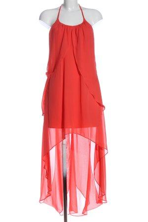 Adrianna Papell Vestido largo rojo elegante