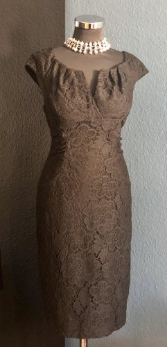 Adrianna Papell Falda estilo lápiz negro