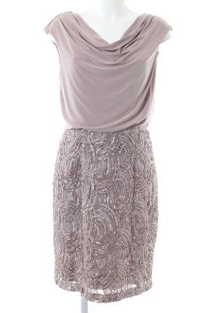 Adrianna Papell Vestido de tubo rosa tejido mezclado