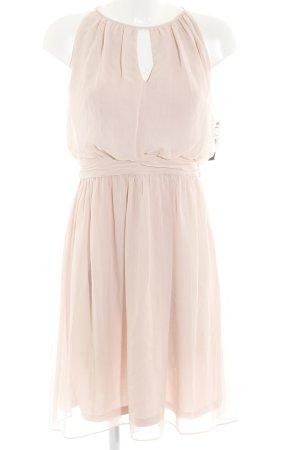 Adrianna Papell Vestido tipo overol rosa empolvado elegante