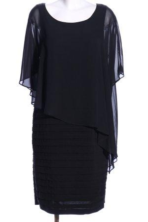 Adrianna Papell Vokuhila-Kleid schwarz Elegant