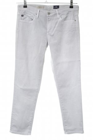 Adriano Goldschmied 7/8-jeans lichtgrijs casual uitstraling