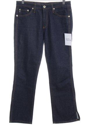 Adriano Goldschmied 7/8 Jeans dunkelblau meliert Street-Fashion-Look