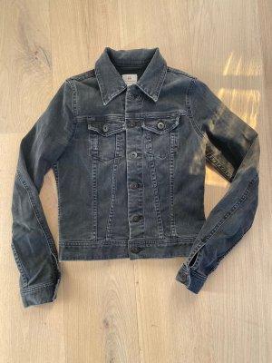 AG Jeans Denim Jacket black-grey