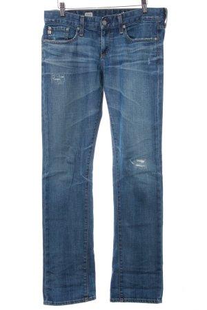 Adriano Goldschmied Boyfriend Jeans steel blue casual look