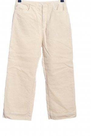 Adriano Goldschmied Cordhose creme Casual-Look