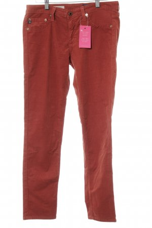 Adriano Goldschmied Cordhose rostrot Casual-Look