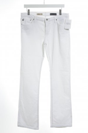 Adriano Goldschmied Corduroy Trousers white casual look