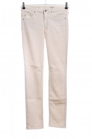 Adriano Goldschmied Five-Pocket Trousers natural white casual look