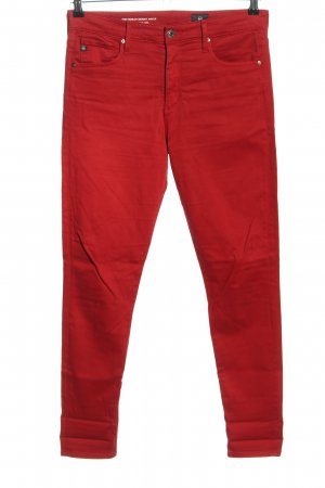Adriano Goldschmied Five-Pocket-Hose rot Casual-Look