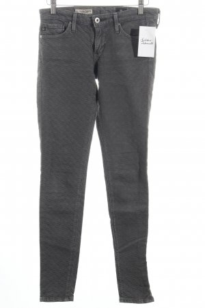 Adriano Goldschmied Pantalon cinq poches gris style mode des rues
