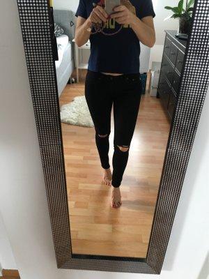 Adriano Goldschmied Skinny jeans zwart Katoen