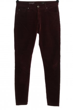 Adriano Goldschmied High-Waist Hose rot Casual-Look