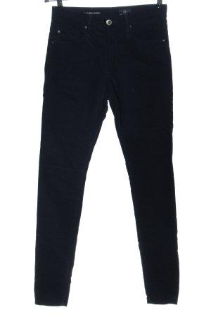 Adriano Goldschmied Spodnie z wysokim stanem czarny W stylu casual