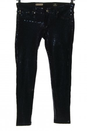Adriano Goldschmied Lage taille broek blauw casual uitstraling