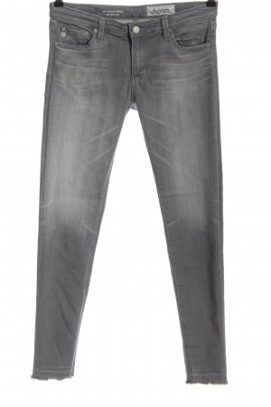 Adriano Goldschmied Low Rise jeans lichtgrijs casual uitstraling