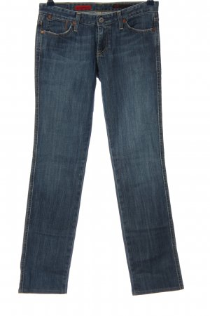 Adriano Goldschmied Low Rise jeans blauw casual uitstraling