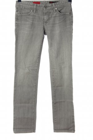 Adriano Goldschmied Low Rise Jeans light grey casual look