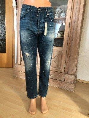 Adriano Goldschmied Dopasowane jeansy niebieski